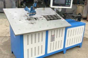 panas jualan automatik 3d keluli kawat membentuk Mesin cnc, 2d wire lenturan harga mesin