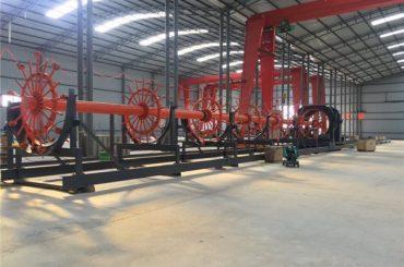 Pembinaan Pile sangkar mesin kimpalan jahitan pengimpal dengan ISO